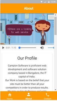 Campion Software screenshot 1