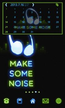 MAKE SOME NOISE 도돌 캘린더 테마 apk screenshot