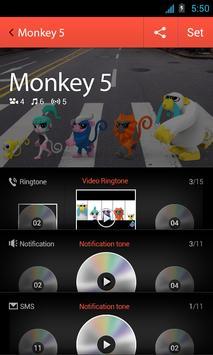 Monkey 5 package for dodol pop poster