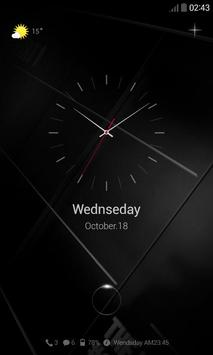 Dark Night Dodol Locker Theme apk screenshot