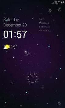 SilentNight Dodol Locker Theme apk screenshot