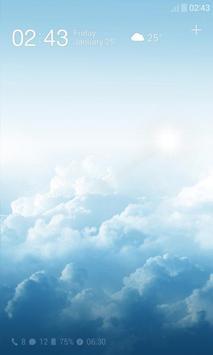 Sky Dream Dodol Locker Theme poster