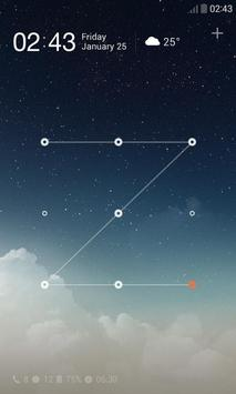 Sky Dream Dodol Locker Theme apk screenshot