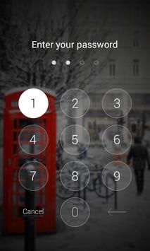 White Story Dodol Locker Theme apk screenshot