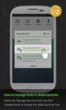 Dolsue LINE Launcher Font screenshot 3
