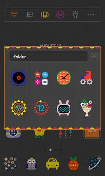 ColorfulLab LINELauncher theme apk screenshot