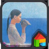 Meditation at Noon dodol theme icon