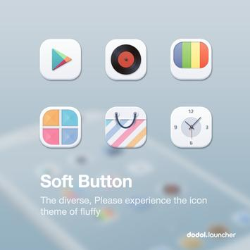 Soft Button dodol theme poster
