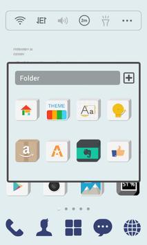 Square Solid dodol Theme screenshot 3