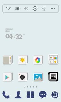 Square Solid dodol Theme poster