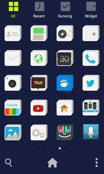 Square Solid dodol Theme screenshot 2