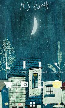 Sweet autumn night poster