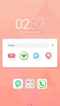 Twinkle LINE Launcher theme apk screenshot