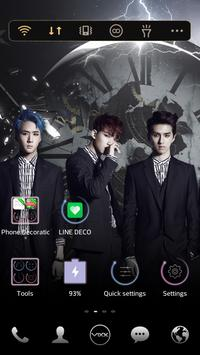 VIXX ETN LINE Launcher theme apk screenshot