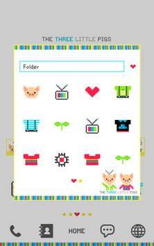 three little pigs dodol theme screenshot 1