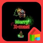 크리스마스를 즐겨봐 도돌런처 테마 icon