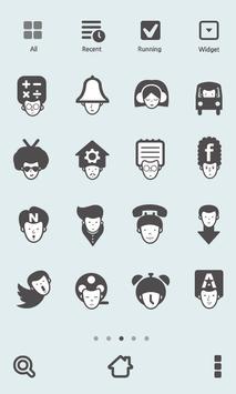 Hairman dodol theme apk screenshot