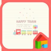 Happy Train 도돌런처 테마 icon