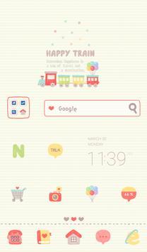 Happy Train 도돌런처 테마 poster