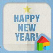 Happy new year★ dodol theme icon