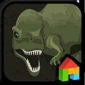 Jurassic_2 LINE Launcher theme icon