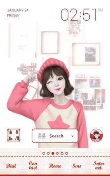 lovely girl dodol theme poster