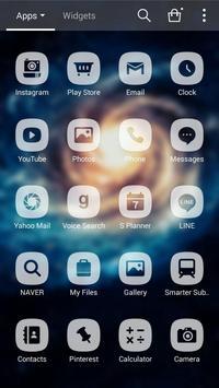 Modern times space dodol theme apk screenshot
