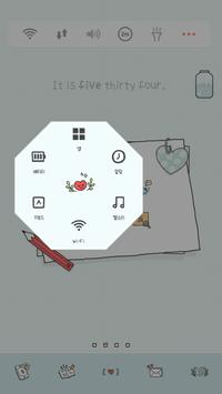 my_diary Dodol launcher theme apk screenshot