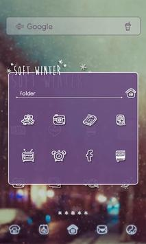 soft winter dodol theme apk screenshot