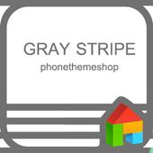 stripecolor-gray D icon