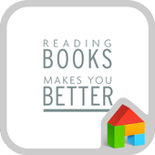 reading books dodol theme icon