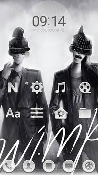 WIMP LINE Launcher theme poster