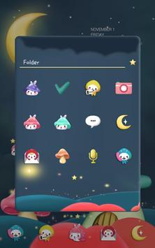 Togun(moon night)Dodol Theme screenshot 1