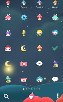 Togun(moon night)Dodol Theme screenshot 2