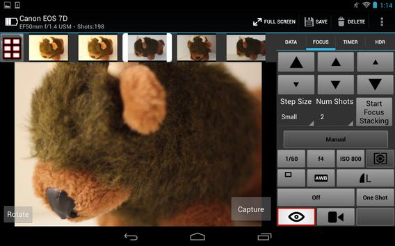 CamRanger Wireless DSLR Remote apk screenshot