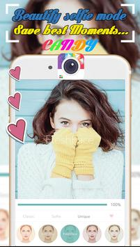 Candy Selfie Camera - Photo Editor, Collage Maker poster