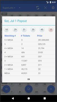 CA Lottery Mate apk screenshot