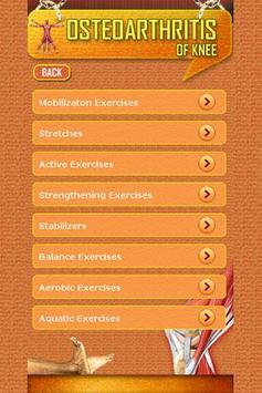 Osteoarthritis of knee apk screenshot
