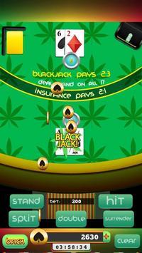 Cannabis Bob BlackJack poster