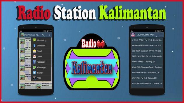 Kalimantan Radio Station poster
