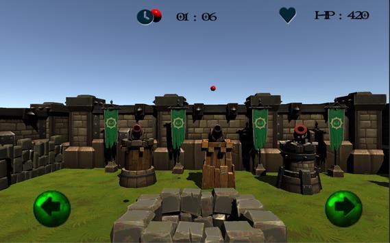 CannonBall Catch apk screenshot