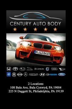Century Auto Body poster