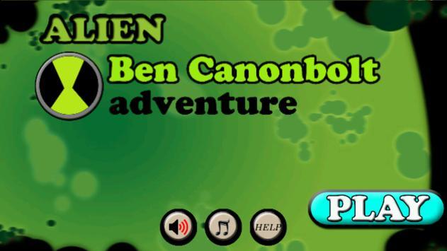 Alien Ben Canonbolt Adventure poster