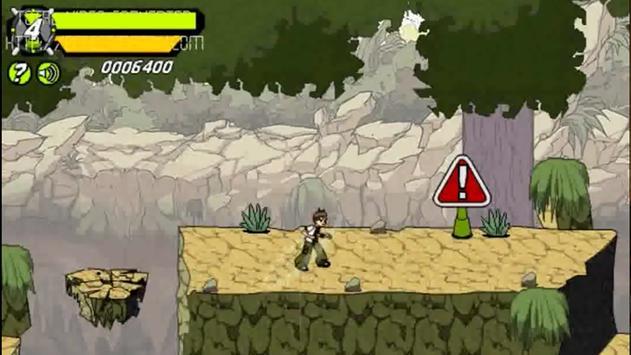 Alien Ben Canonbolt Adventure apk screenshot