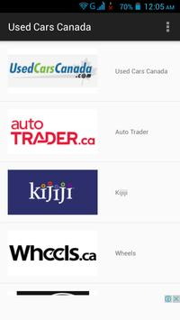 Used Cars Canada poster