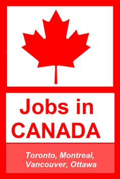 Jobs in Canada poster