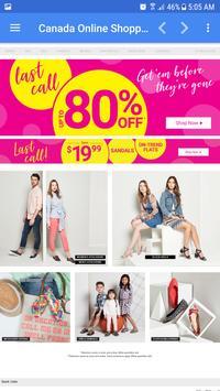 Canada Online Shopping screenshot 2