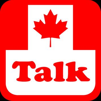 Canada Talk Radio Stations poster