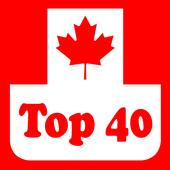Canada Top 40 Radio Stations icon