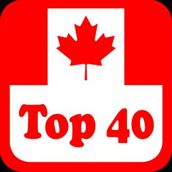 Canada Top 40 Radio Stations poster